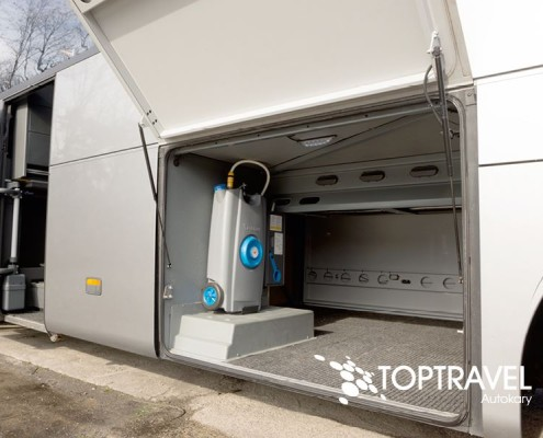 Autokar wynajem - Mercedes Tourismo bagażnik TOP TRAVEL
