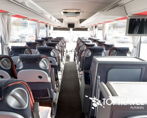 Autokar wynajem - Mercedes Tourismo dvd TOP TRAVEL