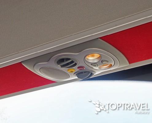 Autokar wynajem - Mercedes Tourismo klimatyzacja TOP TRAVEL