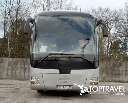 Wynajem autokarów MAN Warszawa - TOP TRAVEL