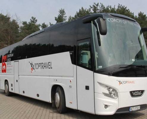 Autokary Warszawa TOP TRAVEL