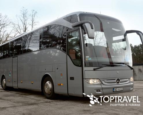 Wynajem autokarów Mercedes TOP TRAVEL Warszawa