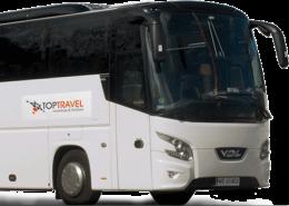 Wynajem Autokarów Warszawa Polska TOP TRAVEL VDL