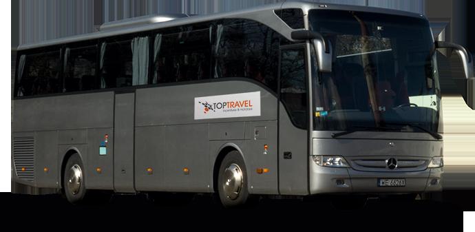 Wynajem autokarów Warszawa Polska TOP TRAVEL Mercedes