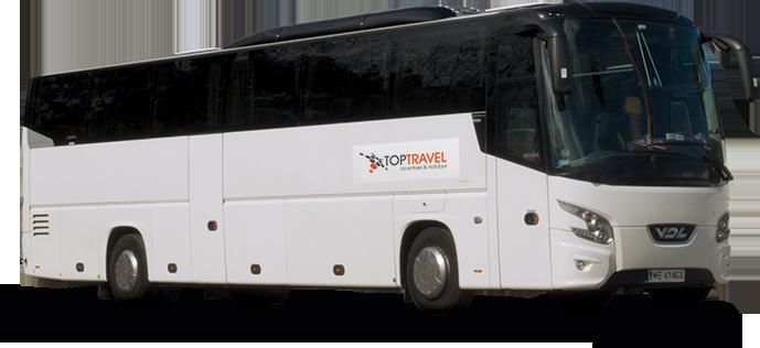 Luksusowe Autokary na wynajem Warszawa TOP TRAVEL